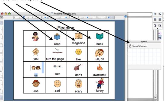 MS WordScanning