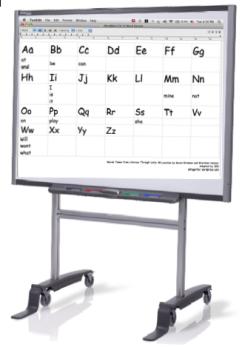 smartboard mockup
