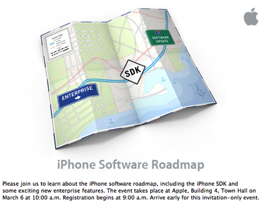 apple road map